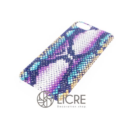 iphoneケースデコレーション - Python001スワロフスキーデコ