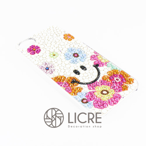 iphoneケースデコレーション – Smile flower001