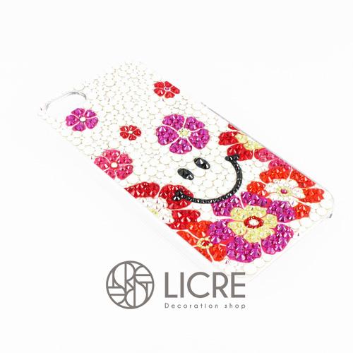 iphoneケースデコレーション – Smile flower003