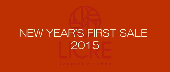 スワロフスキーデコショップLICRE 2015NEW YEAR'S FIRST SALE