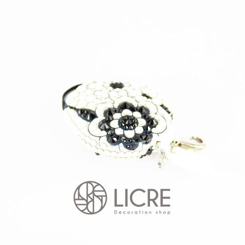 putitデコレーション - Lace flower001スワロフスキーデコレーションイメージ
