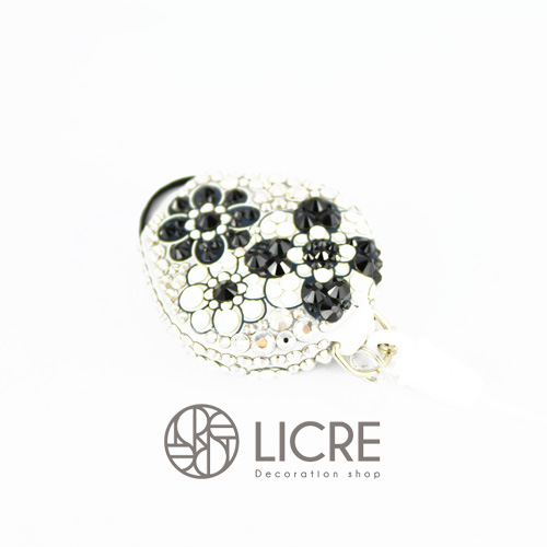 putitデコレーション - Lace flower002スワロフスキーデコレーションイメージ