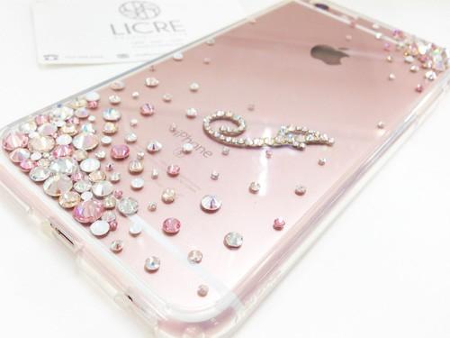 iphone6sローズゴールドへのデコレーション