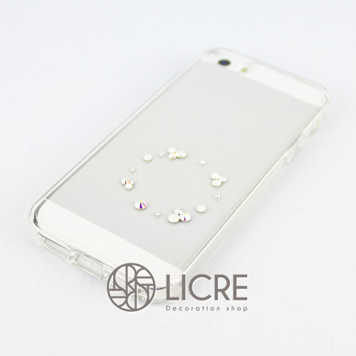 iphoneケースデコレーション - Eternity20 U-Circle001スワロフスキーデコ