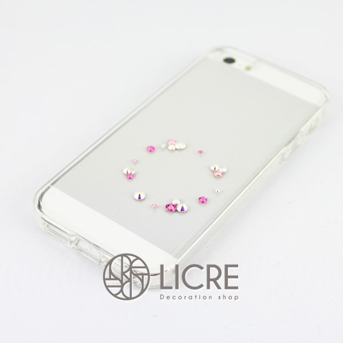 iphoneケースデコレーション - Eternity20 U-Circle002スワロフスキーデコ