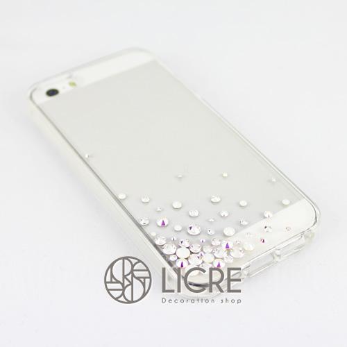 iphoneケースデコレーション - Eternity50 UL-Bubble001スワロフスキーデコ