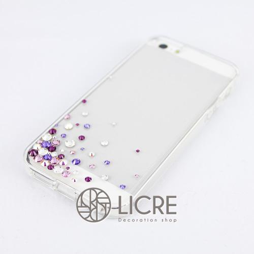 iphoneケースデコレーション - Eternity50 UL-Bubble004スワロフスキーデコ