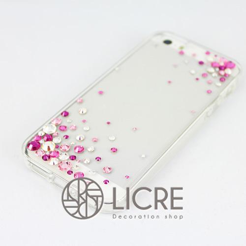 iphoneケースデコレーション - Eternity80 ULTR-Bubble002スワロフスキーデコ