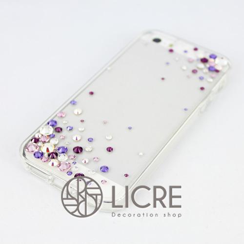 iphoneケースデコレーション - Eternity80 ULTR-Bubble004スワロフスキーデコ