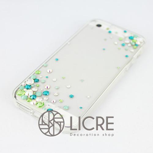 iphoneケースデコレーション - Eternity80 ULTR-Bubble005スワロフスキーデコ