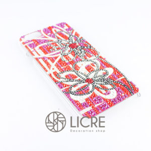 iphoneケースデコレーション – Wire flower001