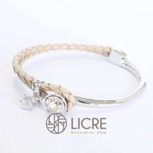 ブレスレット – round leather bracelet BE-001SSHA