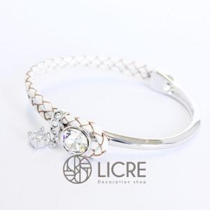 ブレスレット – round leather bracelet WH-001