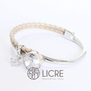 ブレスレット – square leather bracelet BE-001SSHA