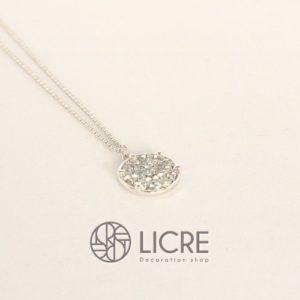 ネックレス – pave round necklace SV-001CAL