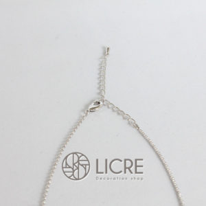 ネックレス – pave round necklace SV-280JET