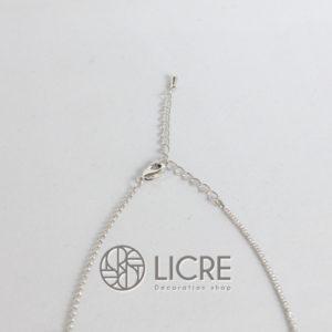 ネックレス – pave round necklace SV-280JET
