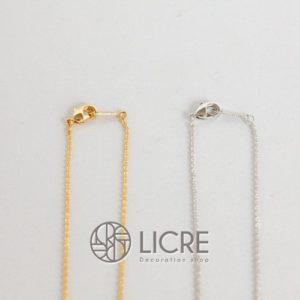 ネックレス – round straight necklace GO-001