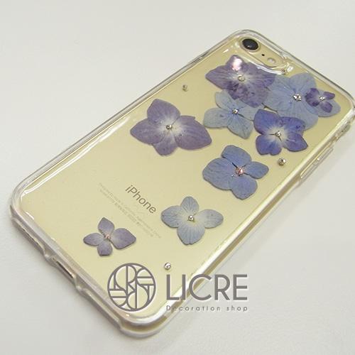 iphone7ゴールドにあわせた2種類の押し花ケースをご紹介