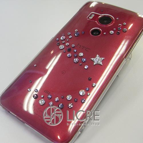 au/HTC J butterfly HTV31クリアケースにmelodyシリーズを・・・
