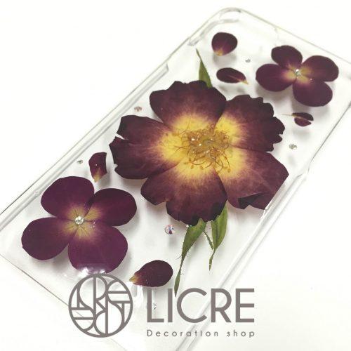 iphone7対応の押し花ケースが東急ハンズ名古屋店で取り扱いスタート