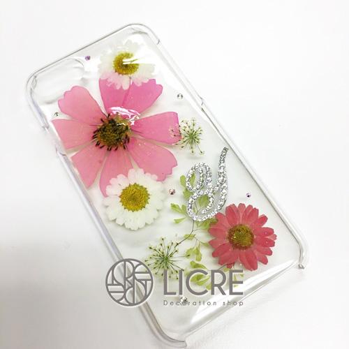 押し花iphone7ケースで華やかなスマートフォンライフ