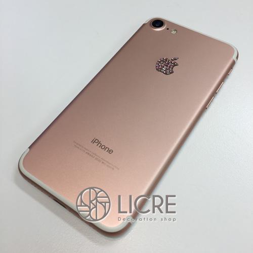 iphone7/iPadをスワロフスキーデコレーションでアレンジ