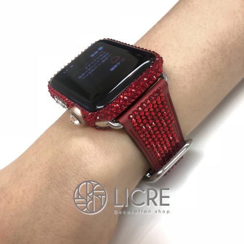 Apple Watchスワロフスキーデコレーション