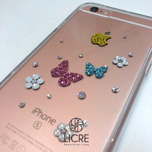 iphoneケースデコレーション