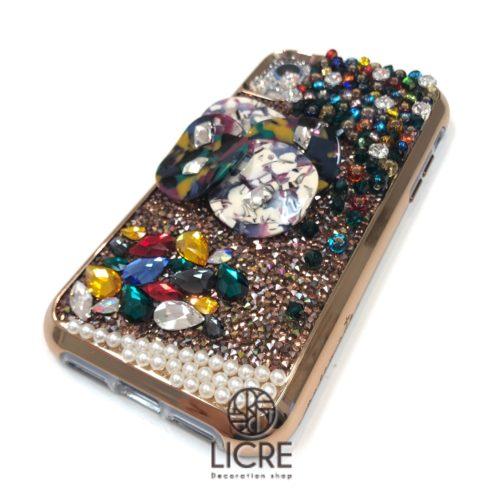 iphoneXR スワロフスキーデコレーション